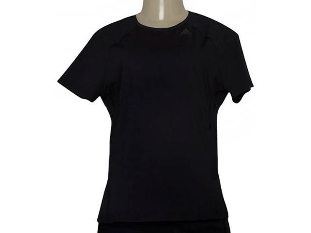 T-shirt Feminino Adidas Bk2688 D2m Tee Solid Preto