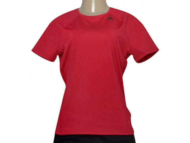 T-shirt Feminino Adidas Bq5821 D2m Tee Solid Pink