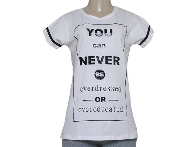 T-shirt Feminino Alto Giro 58764 Off White