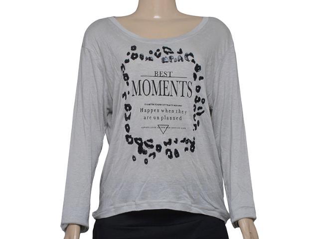 T-shirt Feminino Alto Giro 58767 Cinza