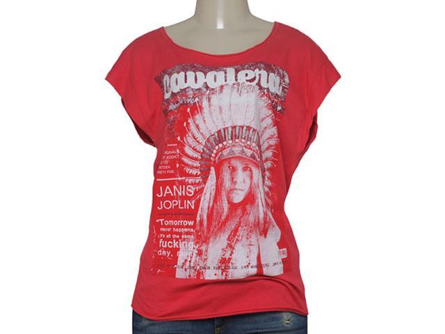 T-shirt Feminino Cavalera Clothing 09.02.2347 Vermelho