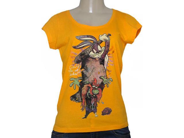 T-shirt Feminino Cavalera Clothing 09.02.2344 Mostarda