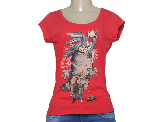 T-shirt Feminino Cavalera Clothing 09.02.2344 Vermelho