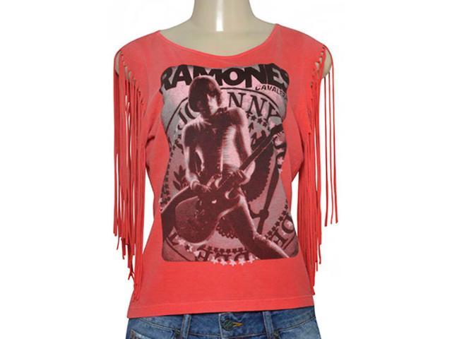 T-shirt Feminino Cavalera Clothing 09.02.2429 Vermelho