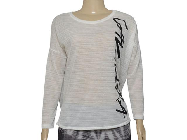 T-shirt Feminino Cavalera Clothing 09.02.2495 Off White