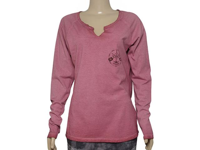 T-shirt Feminino Cavalera Clothing 09.02.2502 Bordo