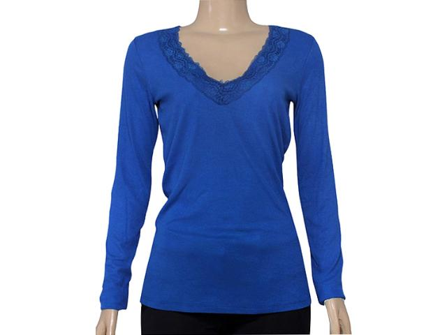 T-shirt Feminino Coca-cola Clothing 343201259 Azul
