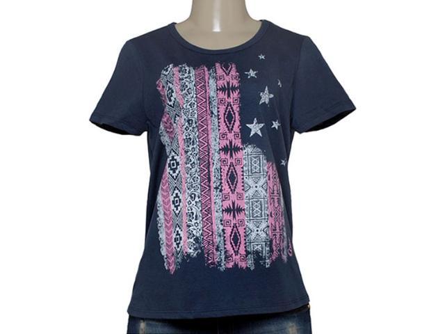 T-shirt Feminino Coca-cola Clothing 345200040 Marinho
