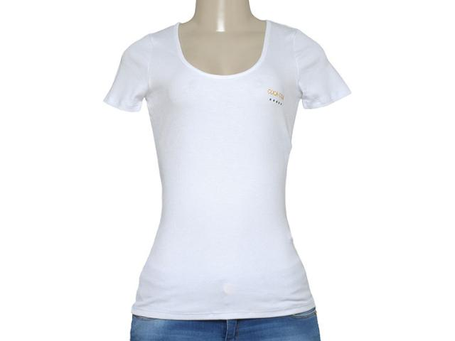 T-shirt Feminino Coca-cola Clothing 343201437 Branco
