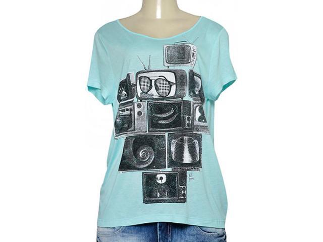 T-shirt Feminino Coca-cola Clothing 345800006 Verde
