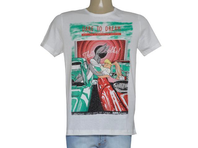 T-shirt Feminino Coca-cola Clothing 345600081 Areia
