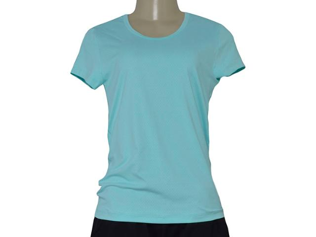 T-shirt Feminino Estilo do Corpo 7077 Verde Agua