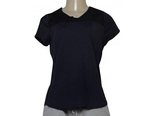 T-shirt Feminino Estilo do Corpo 7329 Preto