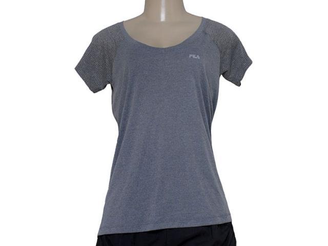 T-shirt Feminino Fila R102152 Match Mescla