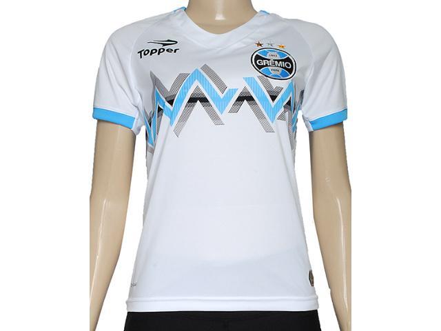 T-shirt Feminino Grêmio C9004f Branco