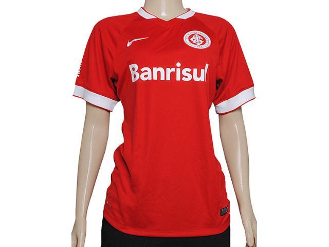 T-shirt Feminino Inter 619213-612 Sci ss Home Stadium Jsy Vermelho/branco