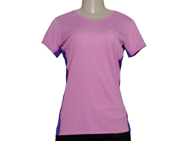 T-shirt Feminino Nike 519829-577  Lilas/roxo
