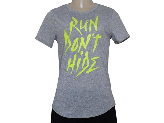 T-shirt Feminino Nike 684029-063 Run p Run Dont Hide Tee  Mescla
