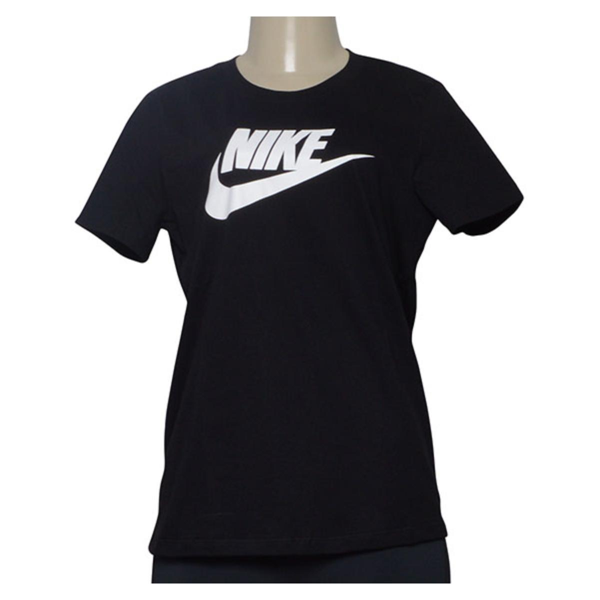 T-shirt Feminino Nike Bv6169-010 Sportswear Preto