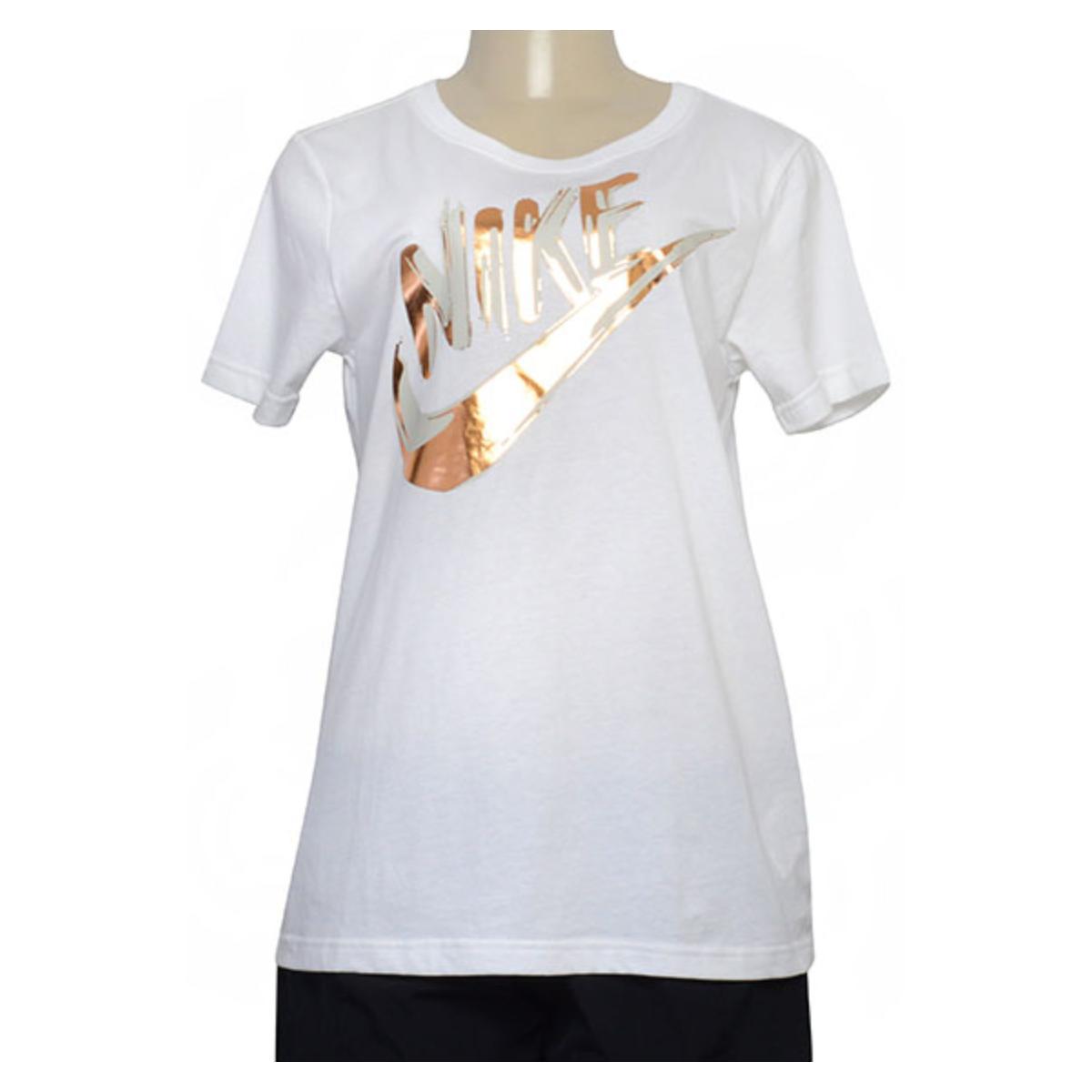 T-shirt Feminino Nike 939352-100 Sportswear Branco
