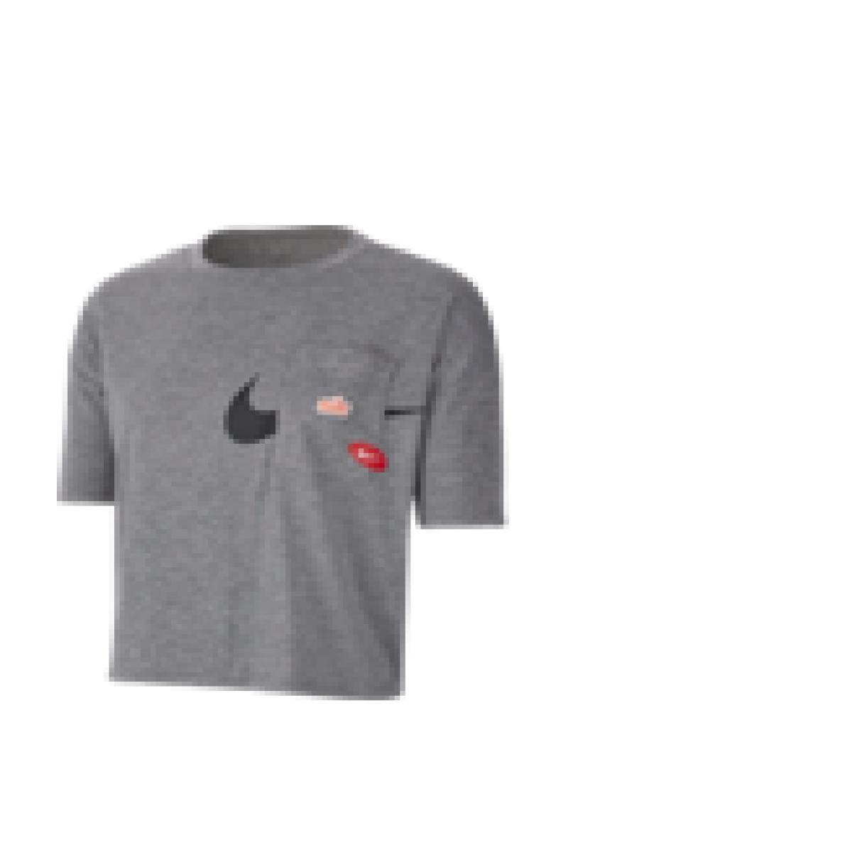 T-shirt Feminino Nike Cj3480-091 Icon Clash Cinza