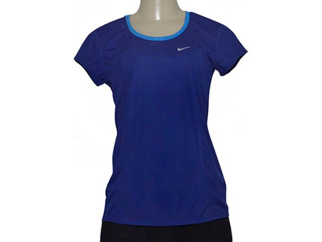 T-shirt Feminino Nike 645443-459 Racer ss  Royal/azul