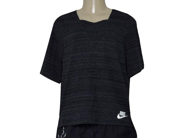 T-shirt Feminino Nike 838954-010 w Nsw Av15 Preto
