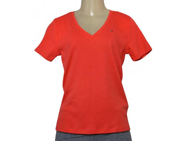 T-shirt Masculino Tommy Thww0ww11239 Coral