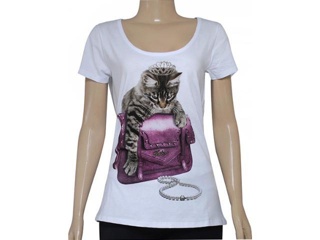 T-shirt Feminino Triton 341400828 Branco