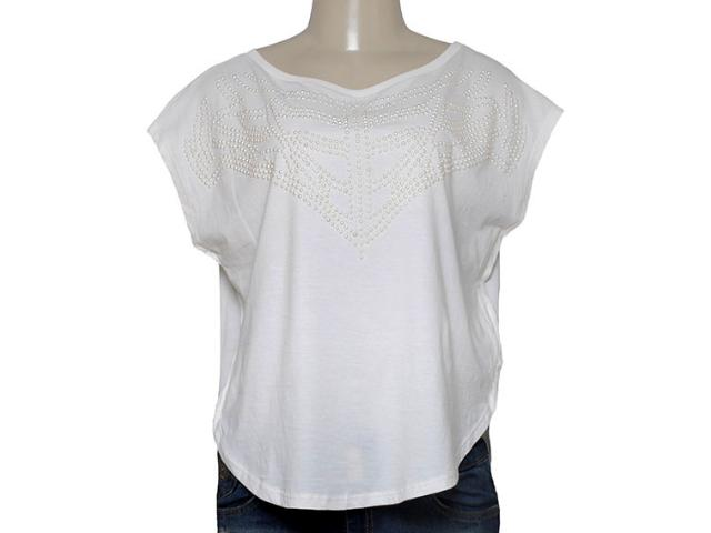 T-shirt Feminino Triton 341401036 Off White