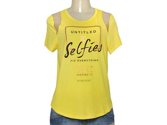 T-shirt Feminino Triton 341400944 Amarelo