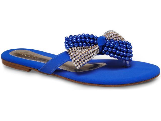 Tamanco Feminino Addan Mulher 645 Azul Bic