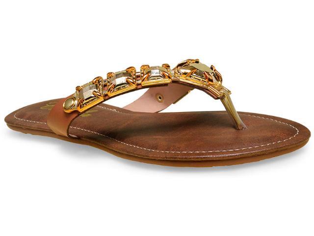 Tamanco Feminino Camelia 219 Dourado