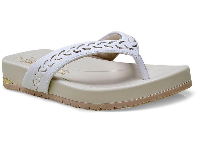 Tamanco Feminino Comfortflex 15-50402 Branco