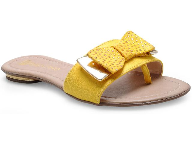 Tamanco Feminino Fiorentino 112 Amarelo
