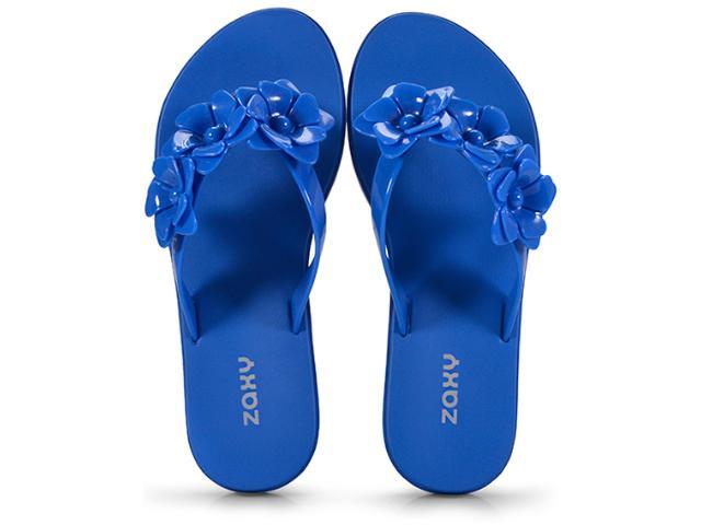 Tamanco Feminino Grendene 17544 90061 Zaxy Fresh Choice Azul
