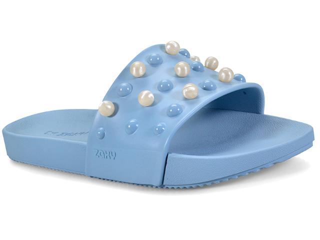Tamanco Feminino Grendene 17643 90150 Zaxy Snap Lady Azul