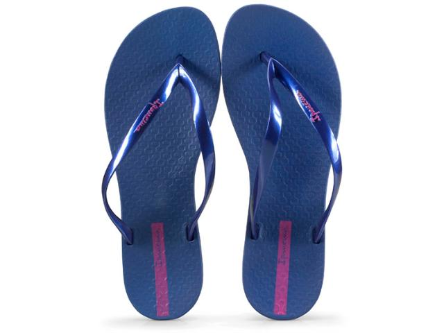 Tamanco Feminino Grendene 25971 24681 Ipanema Wave Azul Perolado