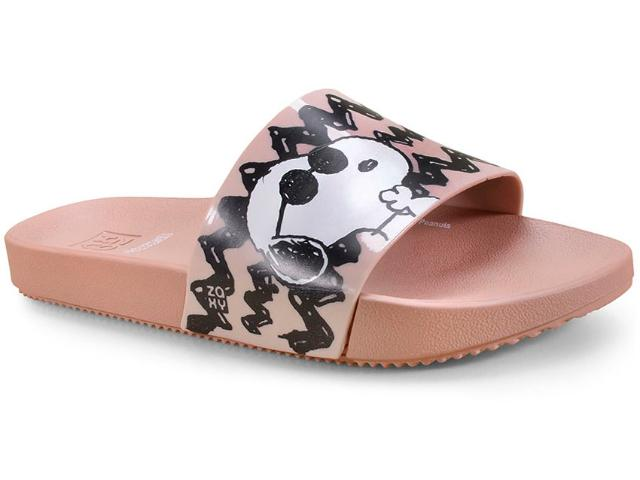 Tamanco Feminino Grendene 17818 90059 Zaxy Snoopy Nude