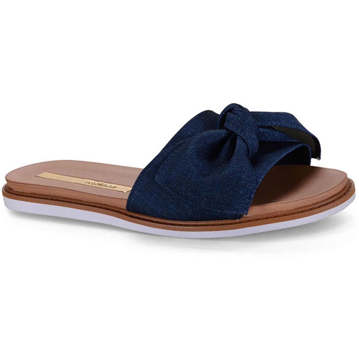 Tamanco Feminino Moleca 5443105 Jeans