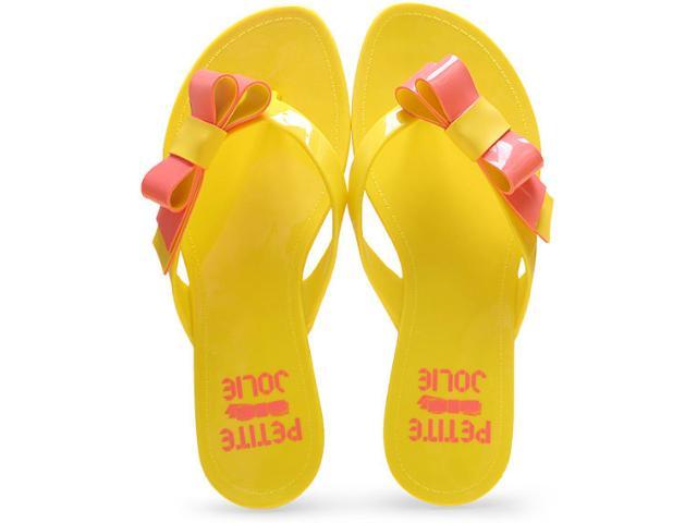 Tamanco Feminino Petite Jolie Pj1383 Amarelo