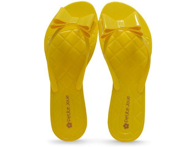 Tamanco Feminino Petite Jolie Pj1537 Amarelo