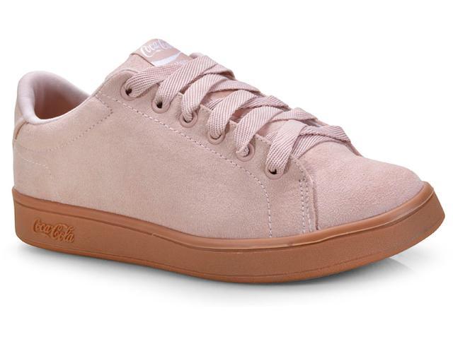 Tênis Feminino Coca-cola Shoes Cc1545 Rose