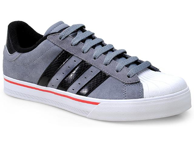 Tênis Masculino Adidas F39061 Bbneo Classic Cinza/preto