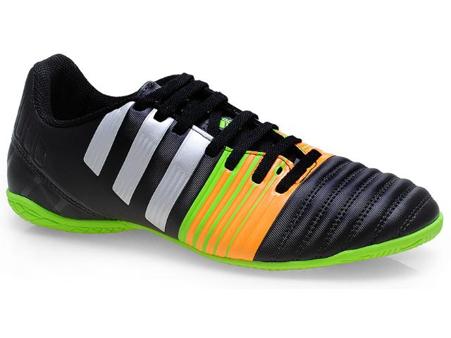 Tênis Masculino Adidas M29926 Nitrocharge 4.0 Preto/prata/laranja/verde