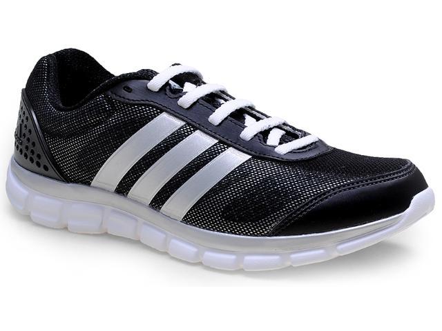 Tênis Masculino Adidas M17343 Breeze 202 2m Preto/prata