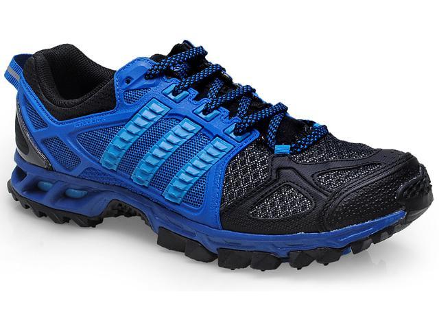 Tênis Masculino Adidas M18450 Kanadia 6m Preto/azul