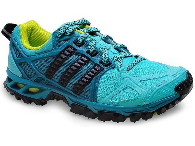 Tênis Feminino Adidas M18456 Kanadia 6w Verde Agua/petróleo
