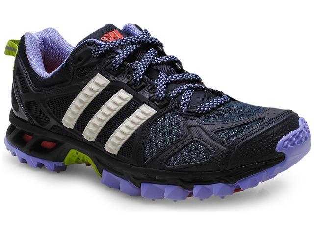 Tênis Feminino Adidas M17445 Kanadia tr 6w Preto/lilas