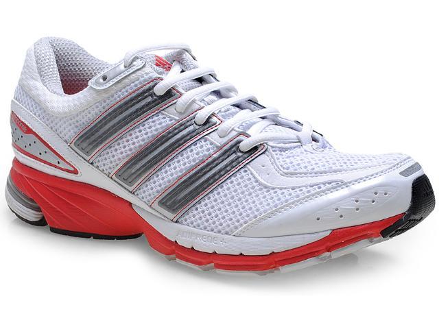 Tênis Masculino Adidas Q22195 Resp Cush 21 m  Branco/vermelho